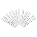 "Cello-Wrapped Round Wood Toothpicks, 2 1/2"", Natural, 1000/Box, 15 Boxes/Carton"