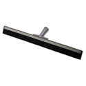 Aquadozer Eco Floor Squeegee,18 Inch Black Rubber Blade, Straight