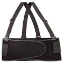 Economy Back Support Belt, X-Large, Black