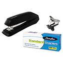 Standard Economy Stapler Pack, Full Strip, 15-Sheet Capacity, Black