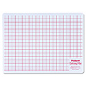 Self-Healing Cutting Mat, 8 1/2 x 12, White Translucent W/Red Lines