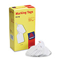 Medium-Weight White Marking Tags, 2 3/4 x 1 11/16, 1,000/Box