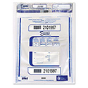 Triple Protection Tamper-Evident Deposit Bags, 12 X 16, Clear, 100/pack