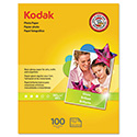 Photo Paper, 6.5 mil, Glossy, 8-1/2 x 11, 100 Sheets/Pack