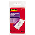 Self-Sealing Laminating Pouches, 12.5 Mil, 2 13/16 X 4 1/2, Luggage Tag, 5/pack