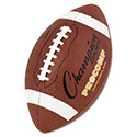 "Pro Composite Football, Intermediate Size, 21"", Brown"