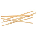 "Renewable Wooden Stir Sticks - 7"", 1000/PK"