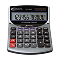 15968 Minidesk Calculator, 12-Digit LCD