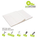 Smart Fab Disposable Fabric, 9 x 12 Sheets, White, 45 per pack