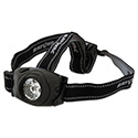Virtually Indestructible LED Headlight, 3 AAA, Black