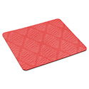 "Mouse Pad with Precise Mousing Surface, 9"" x 8"" x 1/5"", Coral Design"