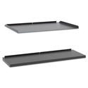 Manage Series Shelf and Tray Kit, Steel, 17-1/2w x 9d x 1h, Ash