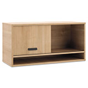 Manage Series Overhead Storage, Laminate, 36w x 14-1/2d x 17-3/4h, Wheat