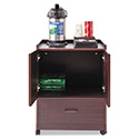 Mobile Deluxe Coffee Bar, 23w x 19d x 30-3/4h, Mahogany