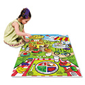 WonderFoam Land Of Nutrition Floor Puzzle, 63 Pieces
