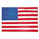 All-Weather Outdoor U.S. Flag, Heavyweight Nylon, 5 ft x 8 ft