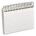Spiral Index Cards, 3 x 5, 50 Cards, White