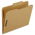 Kraft Fastener Folders, 2 Fasteners, 2/5 Right Tabs, Letter, 50/Box