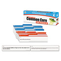 Common Core State Standard Pocket Chart Cards, Language Arts & Math, Grade K