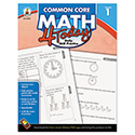 Common Core 4 Today Workbook, Math, Grade 1, 96 pages