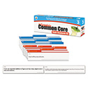Common Core State Standard Pocket Chart Cards, Language Arts & Math, Grade 3