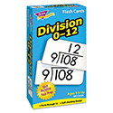 Skill Drill Flash Cards, 3 x 6, Division