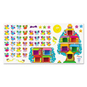 Owl Stars Job Chart Bulletin Board Set, 54 pieces