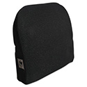 Memory Foam Massage Lumbar Cushion, 12-3/4w x 3-3/4d x 12h, Black