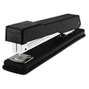 Light-Duty Full Strip Desk Stapler, 20-Sheet Capacity, Black