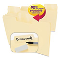 Erasable Supertab File Folders, Letter, Manila, 24/set