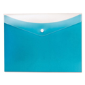Poly Snap Envelope, 8 1/2 x 11, Blueberry