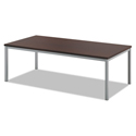 Occasional Coffee Table, 48w x 24d, Chestnut