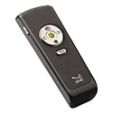 Wireless Presenter with Laser Pointer, Class 2, Black/Silver