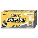 Wite-Out Quick Dry Correction Fluid, 20 Ml Bottle, White, 1/dozen
