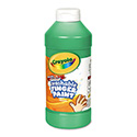 Washable Fingerpaint, Green, 16 Oz