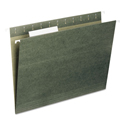 Hanging Folders, Letter Size, 1/3-Cut Tab, Standard Green, 25/Box