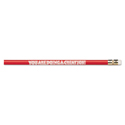 Decorated Wood Pencil, You Are Doing A Great Job, Hb #2, Red, Dozen