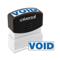 Message Stamp, VOID, Pre-Inked One-Color, Blue