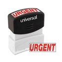 Message Stamp, URGENT, Pre-Inked One-Color, Red