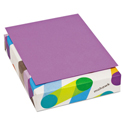 BriteHue Multipurpose Colored Paper, 20lb, 8 1/2 x 11, Violet, 500 Sheets