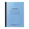 Stitched Composition Book, Legal Rule, 8 x 10 1/2, WE, 48 Pages