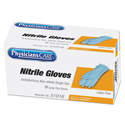 Ambidextrous Non-Sterile Single Use Nitrile Medical Gloves, Large, 10/Box