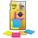 Full Adhesive Notes, 2 x 2, Assorted Rio de Janeiro Colors, 25-Sheet, 8/Pack