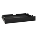 Multi-purpose Drawer with Drop Front, Black