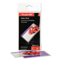 Ultraclear Thermal Laminating Pouches, 5mil, 5 1/2 X 3 1/2, Index Card, 25/pk