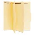 Manila Classification Folders, Letter, Six-Section, 15/Box
