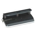 "24-Sheet Easy Touch Two-to-Seven-Hole Precision-Pin Punch, 9/32"" Holes, Black"