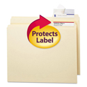 Seal & View File Folder Label Protector, Clear Laminate, 3-1/2x1-11/16, 100/Pack