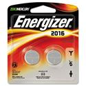 Watch/Electronic/Specialty Battery, 2016, 3V, 2/Pack