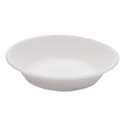 Compostable Sugarcane Bagasse 16 oz Bowl, White, Round, 50/Pack